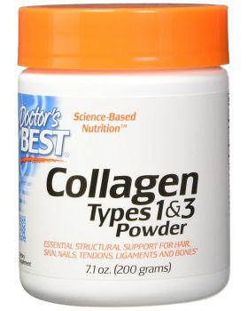 Doctor's Best Best Kollagen Typ 1 & 3 Pulver 200 g