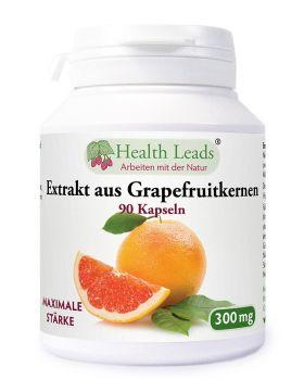 Health Leads Grapefruitkernen Extrakt 300mg x 90 Kapseln