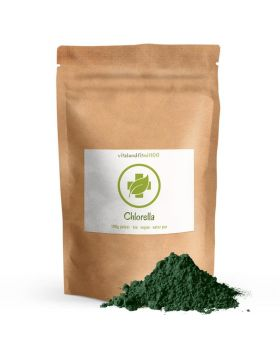 Vitalundfitmit100 Bio Chlorella Pulver 100 g