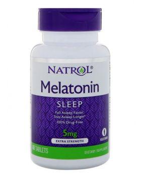 Natrol Melatonin Sleep, extra stark, 5 mg 60 Tabletten