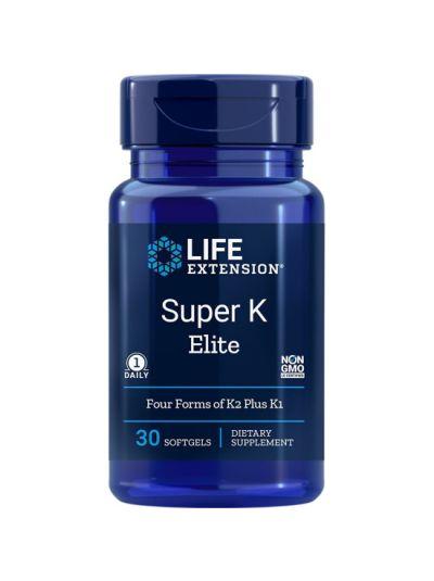 Life Extension Super K Elite (Vitamin K1 und K2) 30 Weichkapseln