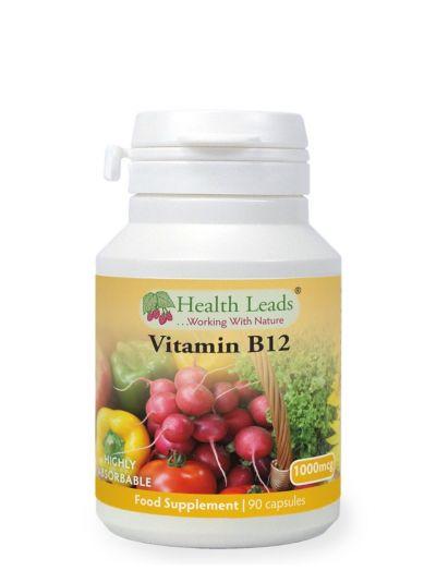HEALTH LEADS VITAMIN B12 METHYLCOBALAMIN 1000MCG  90 KAPSELN