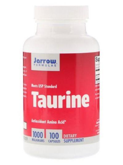 Jarrow Formulas TAURIN DOPPELTE STÄRKE 1000 MG 100 VEGETARISCHE KAPSELN