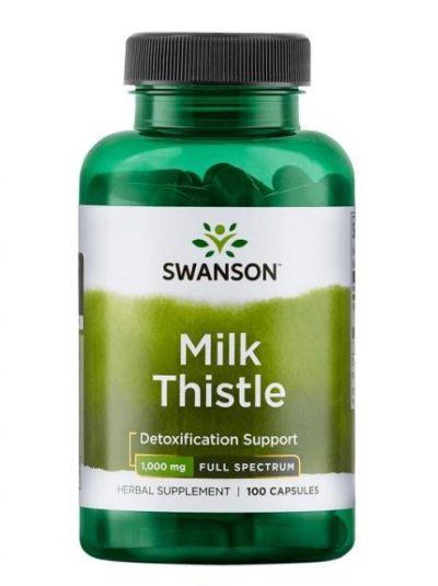 Swanson Mariendistel 500 mg 100 Kapseln