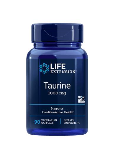 Life Extension - Taurin - 1000 mg - 90 vegetarische Kapseln