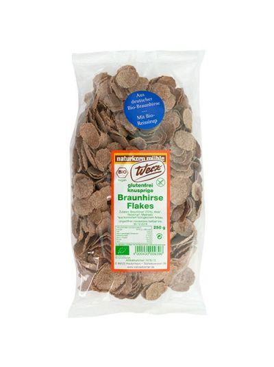 WERZ NATURKORNMÜHLE Braunhirse Flakes glutenfrei 250gr