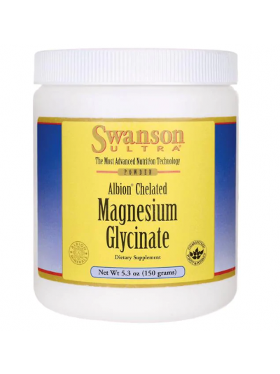 Swanson Ultra - Albion Chelated - Magnesiumglycinatpulver, 150 g
