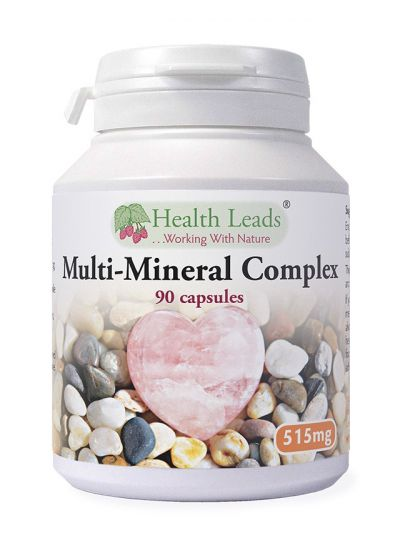 Health Leads Multi-Mineral Komplex 515 mg x 90 Kapseln