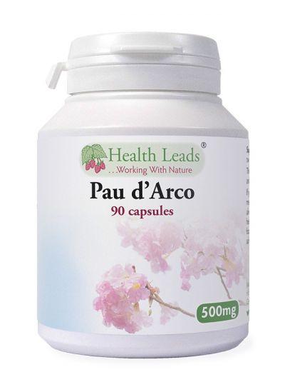 Health Leads Pau d'Arco 500mg x 90 Kapseln