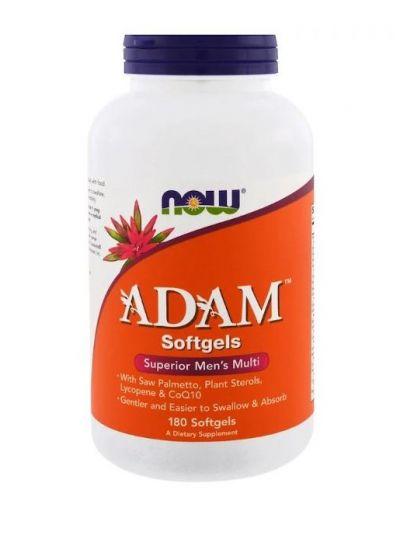 Now Foods Adam Superior Multi für Männer 180 Weichkapseln