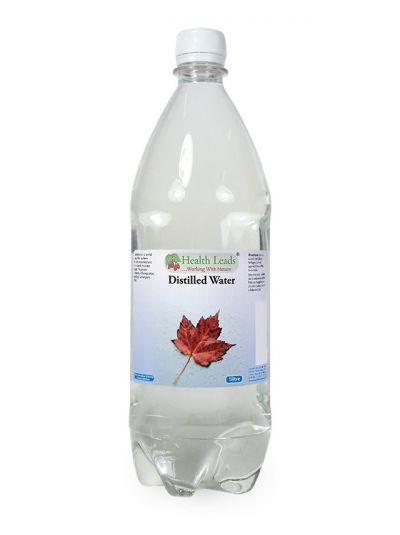 Health Leads Destilliertes Wasser 1 Liter