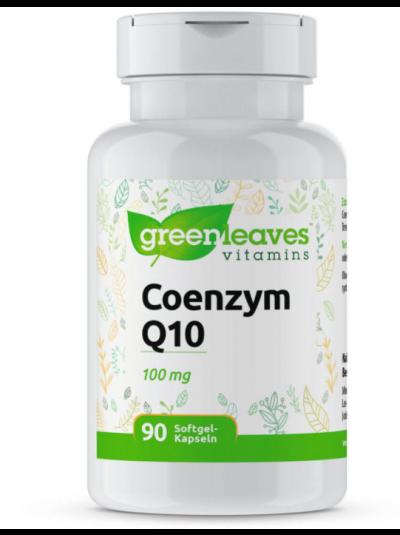 Green Leaves Coenzym Q10 (100 mg) 90 Kapseln