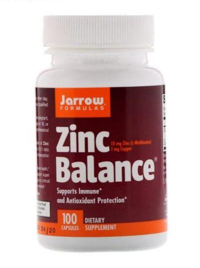 Jarrow Formulas, Zinc Balance, 100 Kapseln