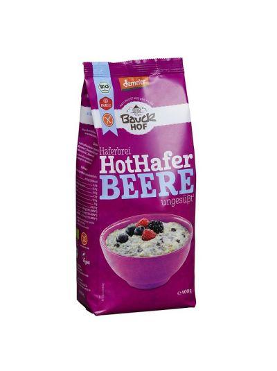 bauckhof Demeter Hot Hafer Beeren Haferbrei, glutenfrei 400g