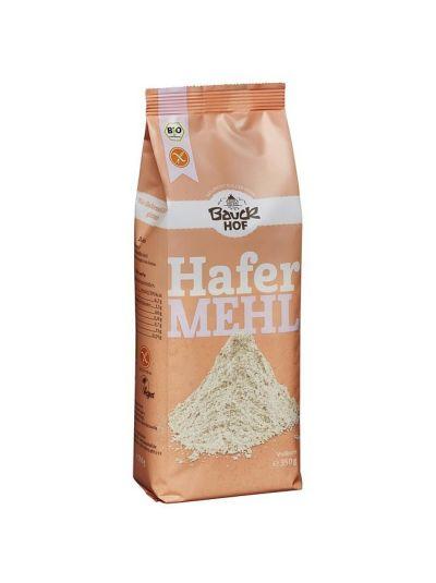 Bauckhof Bio Hafer Mehl Vollkorn glutenfrei 350g