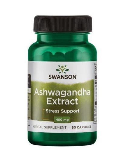 Swanson Ashwagandha-Extrakt 450 mg 60 Kapseln