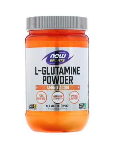 Now Foods L-Glutamin Pulver 454 g