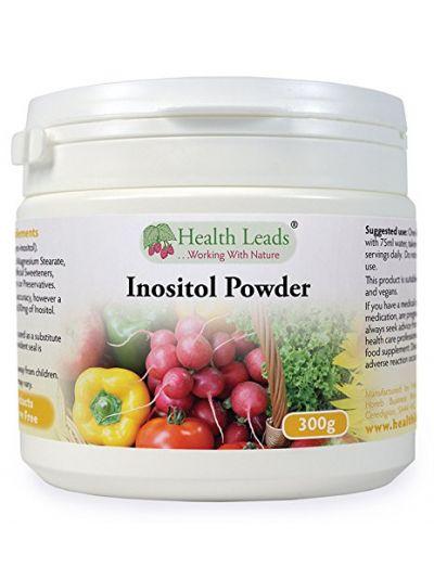 Health Leads 100% Reines Inositol (Myo-Inositol) Pulver 300g (Vegan)