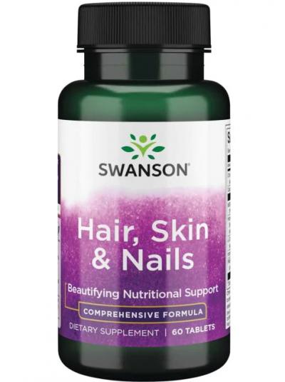 Swanson - Haare, Haut & Nägel - 60 Tabletten