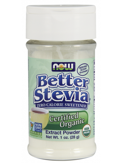 NOW Foods Better Stevia Extract Pulver 28 Gramm