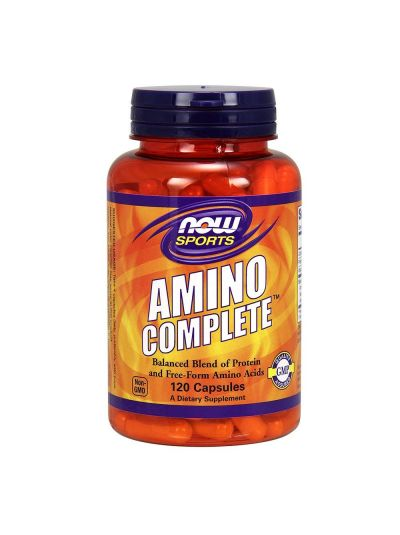 Now Foods Amino Complete 120 Kapseln