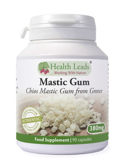 HEALTH LEADS MASTIX (MASTIC GUM) 380 MG X 90 KAPSELN