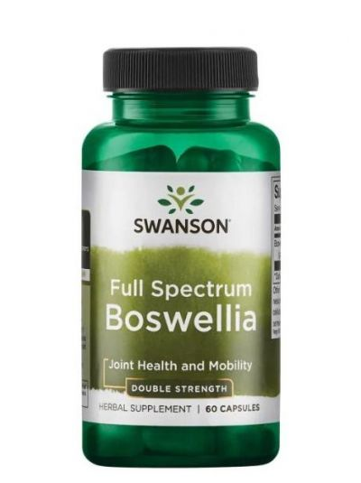 Swanson Vollspektrum Boswellia Weihrauch, 800 mg doppelte Stärke - 60 Kapseln