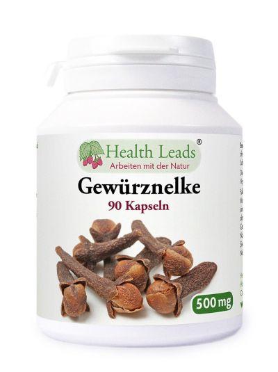 Health Leads Gewürz Nelken (Syzgium aromatica) 500 mg x 90 Gelatinekapseln