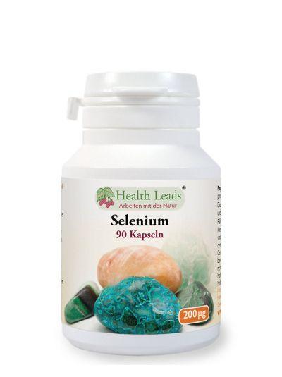 Health Leads Selen 200mcg x 90 Kapseln