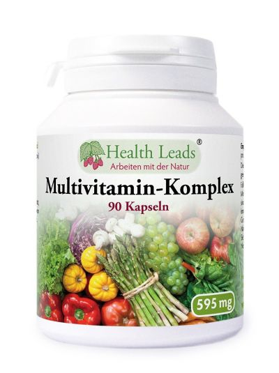 Health Leads Multivitamin-Komplex 595 mg x 90 Kaps