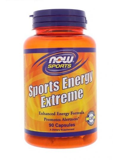 Now Foods Sports Energy Extreme 90 Kapseln