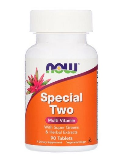 NOW FOODS SPECIAL TWO MULTIVITAMIN 90 TABLETTEN