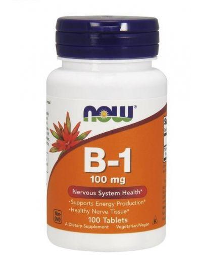 Now Foods Vitamin B1 Thiamin 100 mg 100 Tabletten
