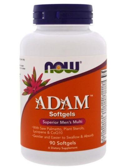 Now Foods Adam Superior Multi für Männer 90 Weichkapseln