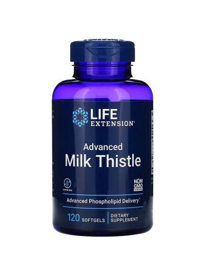 Life Extension Advanced Milk Thistle, hochentwickeltes Präparat, 120 Softgels