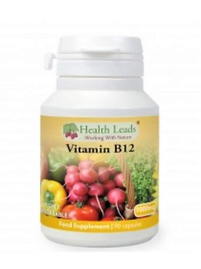 HEALTH LEADS VITAMIN B12 METHYLCOBALAMIN 1000MCG  90-360 KAPSELN