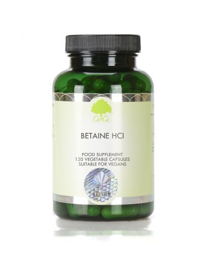G&G VITAMINS Betain HCl 480 mg 120 Kapseln