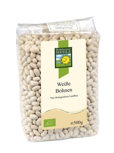 Bohlsener Mühle Weiße Bohnen - Bio 500g