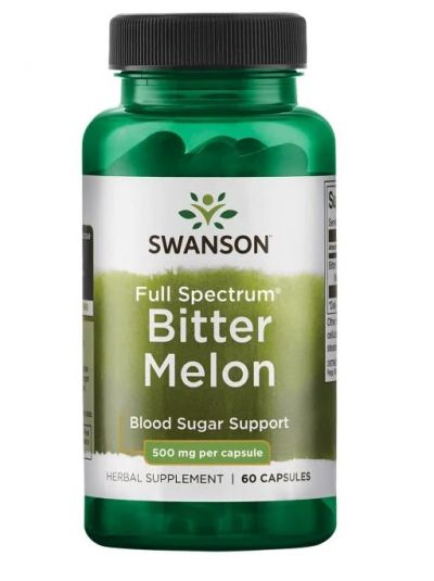 Swanson Premium - Vollspektrum Bitter Melone 500mg 60 Kapseln