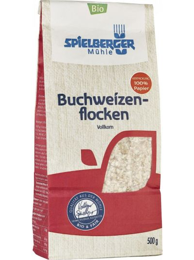 SPIELBERGER MÜHLE BIO GLUTENFREIE Buchweizenflocken 500g