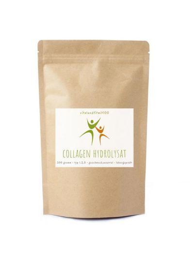 Vitalundfitmit100 Kollagen (Collagen) Hydrolysat Pulver 500 g