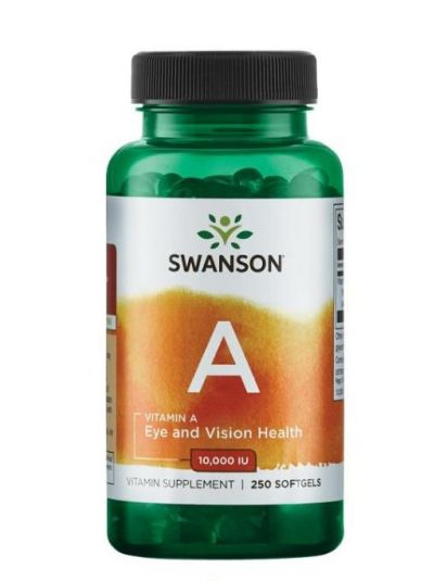 Swanson VITAMIN A 3.333 IU 250 SOFTGELS