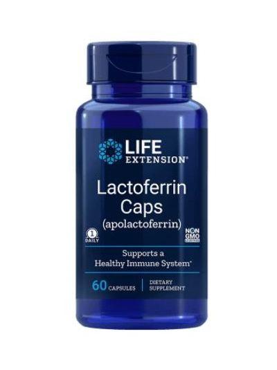 Life Extension Lactoferrin / Laktoferrin 300 mg 60 Kapseln