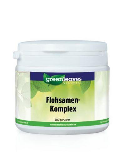 Green Leaves FLOHSAMEN-KOMPLEX PULVER 300g