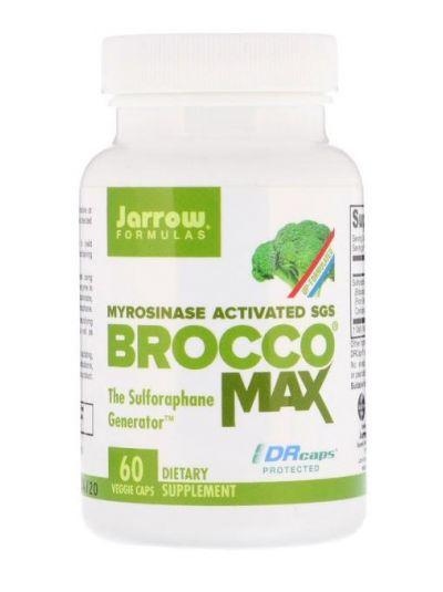 Jarrow Formulas BroccoMax Brokkoli aktivierte Myrosinase 60 vegetarische Kapseln