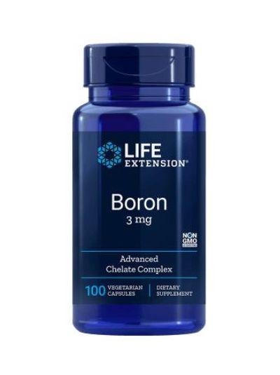 Life Extension Bor 3 mg 100 vegetarische Kapseln