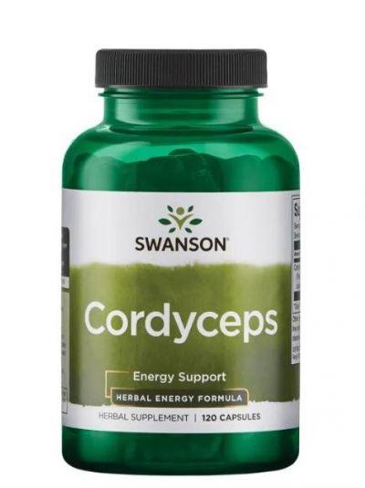 Swanson Cordyceps 600mg 120 Kapseln