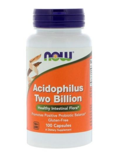 Now Foods, Acidophilus 2 Milliarden, 100 Kapseln