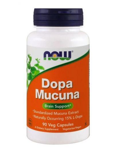 Now Foods, Mucuna Dopa , 90 Vegetabilische Kapseln