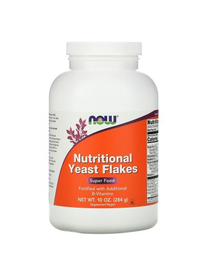 Now Foods Hefeflocken + B-Vitamine 284 g